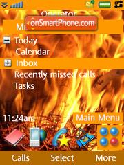 Fire es el tema de pantalla
