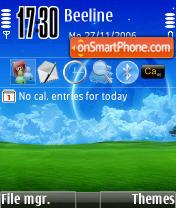 Derec S Dreaming theme screenshot