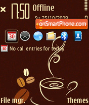 Coffee 04 theme screenshot