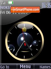 Clock analog animated2 theme screenshot