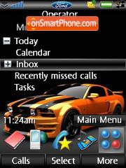 Mustang-GT500 es el tema de pantalla
