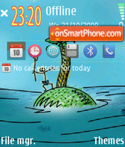 Island 06 theme screenshot