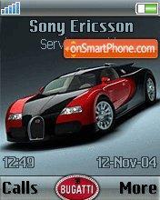 Bugatti es el tema de pantalla