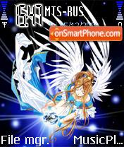 Ahh My Goddess! theme screenshot