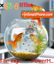 Fish2 es el tema de pantalla