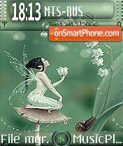 Fairy Of Lily theme screenshot