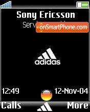 Adidas Germany es el tema de pantalla