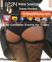 Black Panties es el tema de pantalla