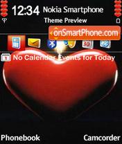 Heart Candle es el tema de pantalla