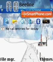 E61 Winter es el tema de pantalla