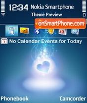Love Blue es el tema de pantalla