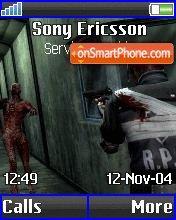 Resident Evil theme screenshot