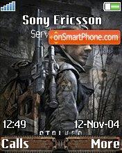 Stalker Call of Pripyat theme screenshot