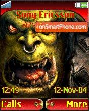 World Of Warcraft theme screenshot
