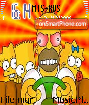 Simpson 8 theme screenshot