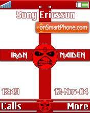 Maiden England theme screenshot