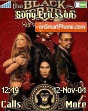 The Black Eyed Peas theme screenshot
