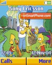 The Simpsons v2 es el tema de pantalla
