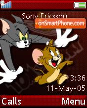Tom And Jerry es el tema de pantalla