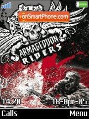 Armagedon Riders v1.1 es el tema de pantalla