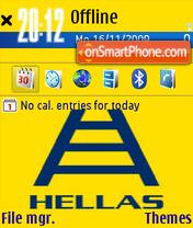 Hellas es el tema de pantalla