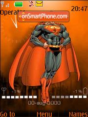 Superman fl.1.1 es el tema de pantalla