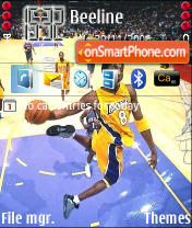 Kobe theme screenshot
