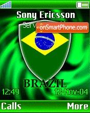 Brasil theme screenshot