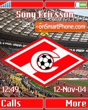 FC Spartak Moscow K750 theme screenshot
