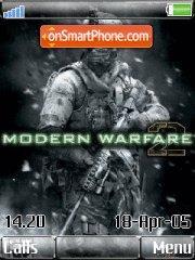 Call of Duty Moder Warfare 2 es el tema de pantalla