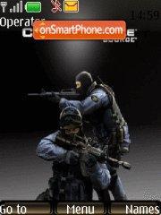 Counter Strike theme screenshot