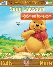 Winnie The Pooh es el tema de pantalla