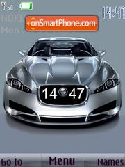 Jaguar SWF theme screenshot
