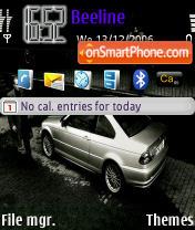 BMW 3 Series es el tema de pantalla