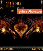 Tribal Heart es el tema de pantalla