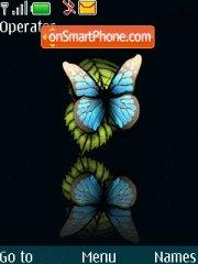 Butterfly theme screenshot