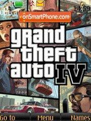 GTA 4 es el tema de pantalla