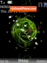 Clock SWF theme screenshot