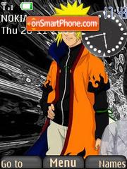 Naruto Best SWF theme screenshot