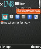 Twill theme screenshot