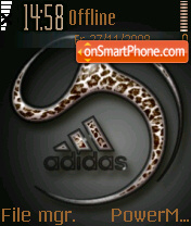 Adidas 40 theme screenshot