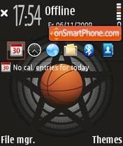 Basketball 04 theme screenshot