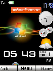 Window 7 reloded theme screenshot