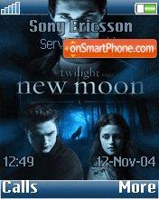 New Moon v2 theme screenshot