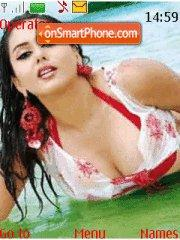 Hot Namitah theme screenshot