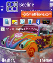 Cool Bug es el tema de pantalla