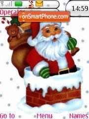 Santa Claus es el tema de pantalla
