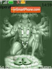 Hanuman es el tema de pantalla
