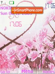 Love SWF theme screenshot