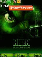 The Incredible Hulk es el tema de pantalla